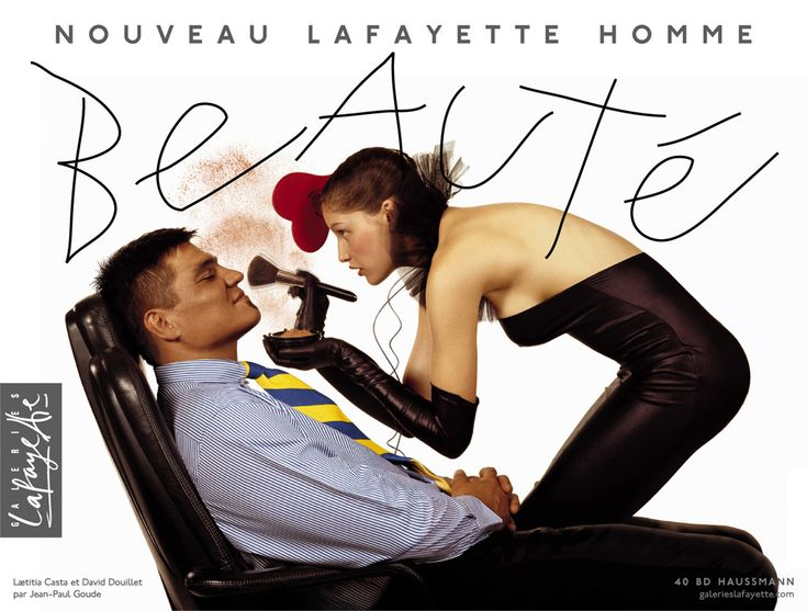 galeries lafayette by goude pub en stock - Galeries Lafayettes Mariage