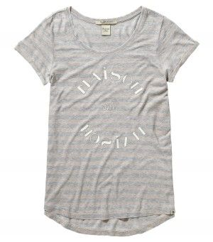 Maison Scotch Logo T-Shirt Grey