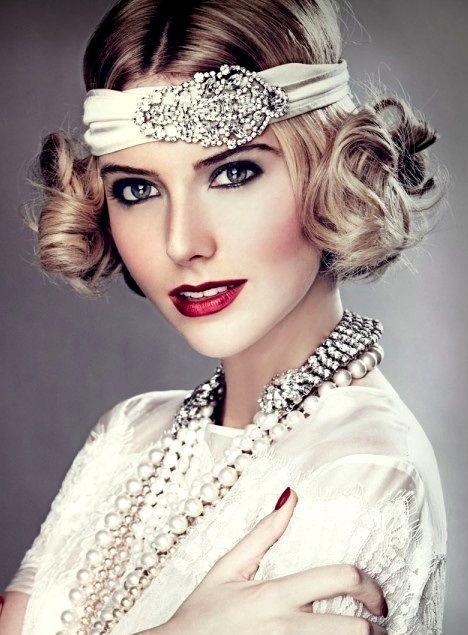 Having a Gatsby-themed wedding? | Stylish Bridal Hairstyle ...