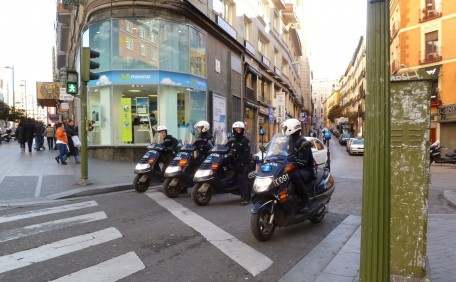 Patrolling..., Madrid