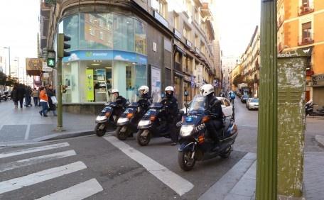 Patrolling..., Madrid