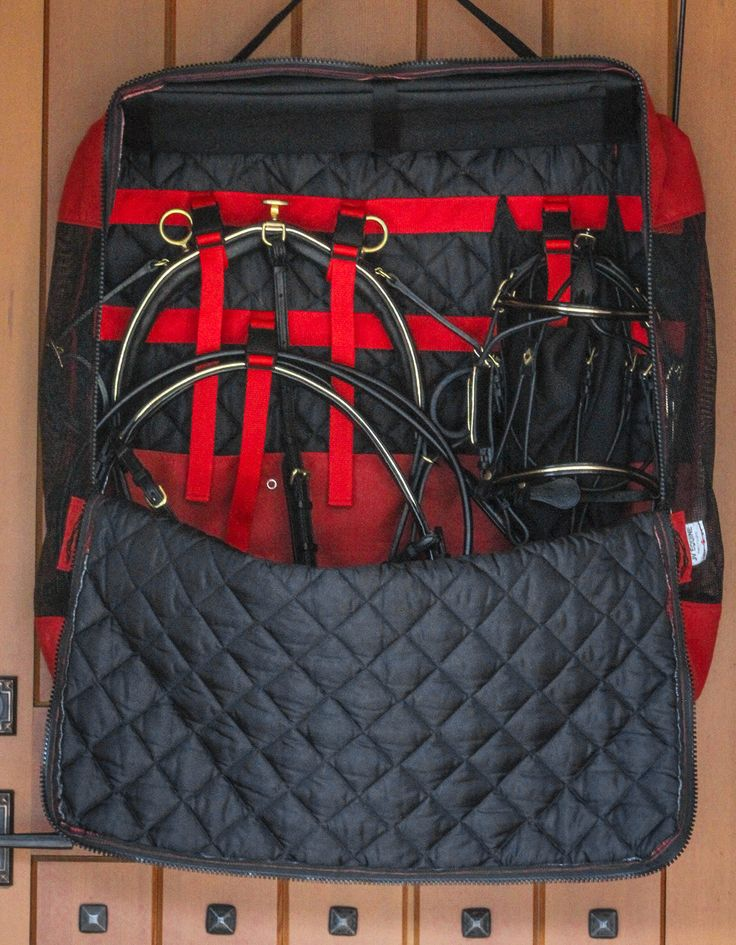 The JV Equine Side-By-Side Harness Bag   Carriage House Miniature Horse tack and harness