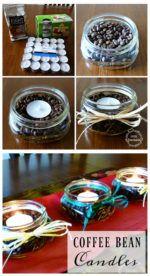 Coffee-bean-candles