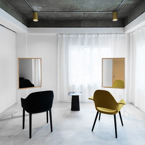 Jete hair salon by Sides Core - so clean and minimal.