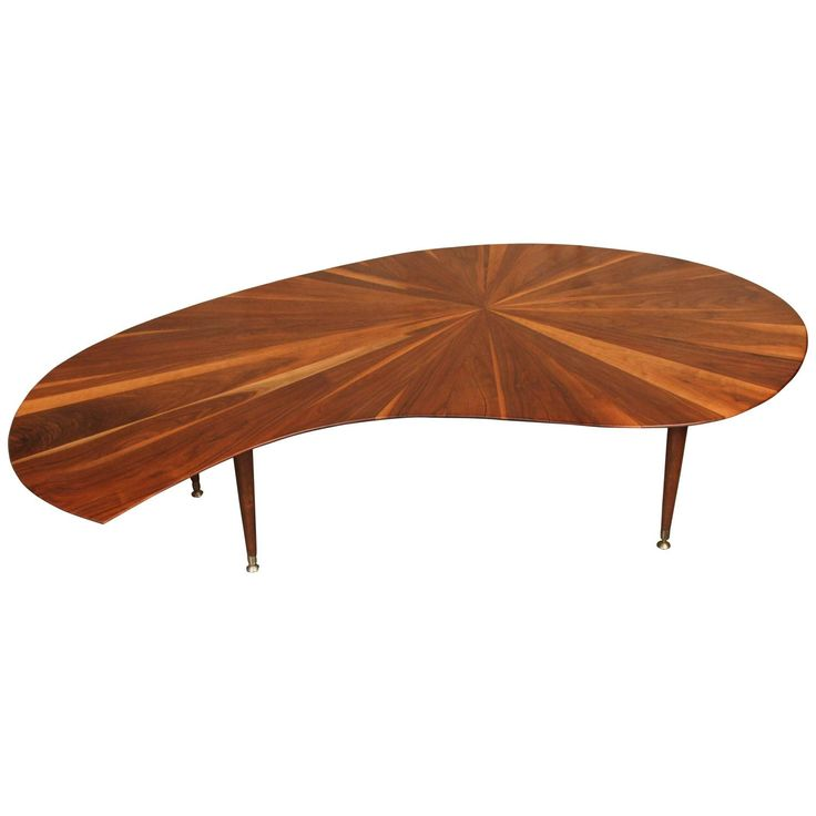 Mid century walnut coffee table mid century coffee and for 10 in 1 table