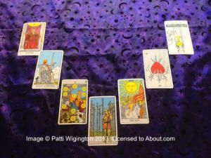 Tarot Card Spreads & Layouts: The Seven Card Horseshoe Spread