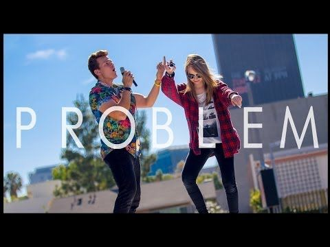 Problem - Ariana Grande (Tyler Ward Acoustic Cover) - Iggy Azalea - One Less Problem Music Video - YouTube