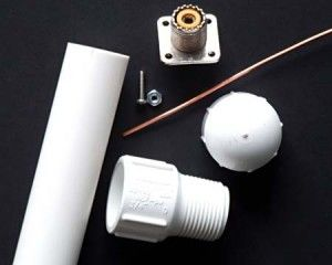 DIY: Build a 2 Meter Vertical Antenna. Great tutorial