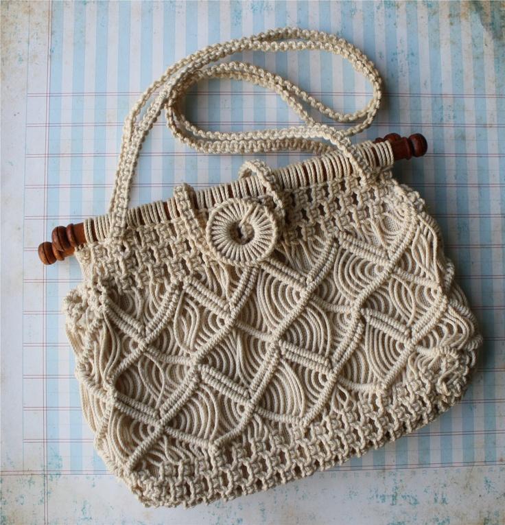 1000 Ideas About Macrame Bag On Pinterest Macrame