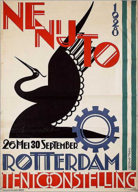 Jaap Gidding, Netherlands Industry Exhibition, 1928