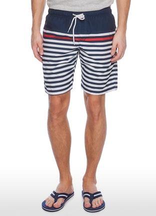 Плавательные шорты в разноцветную полоску за 599р.- от OSTIN