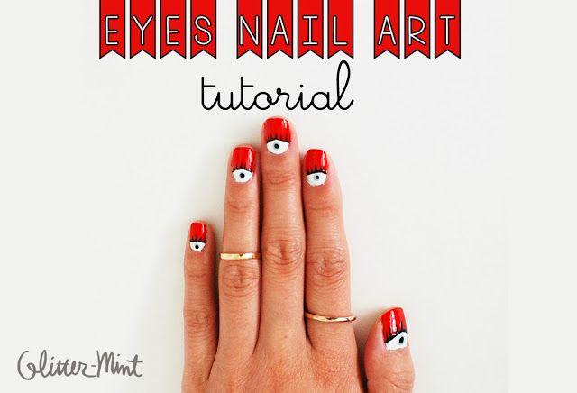 Eye Nail Art Tutorial
