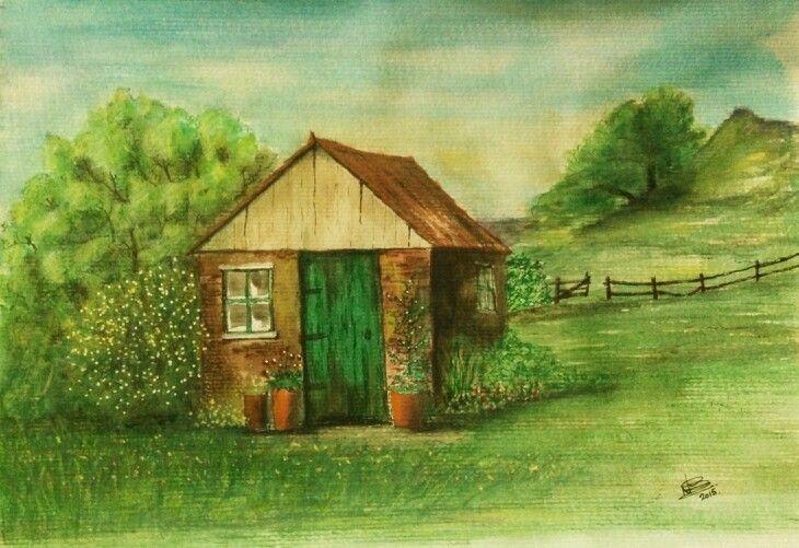 Watercolour by Norman Sumpton