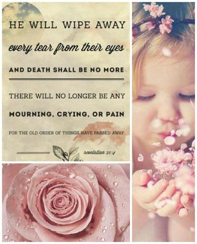 Revelation 21:4 KJV And God Shall Wipe Away All Tears From