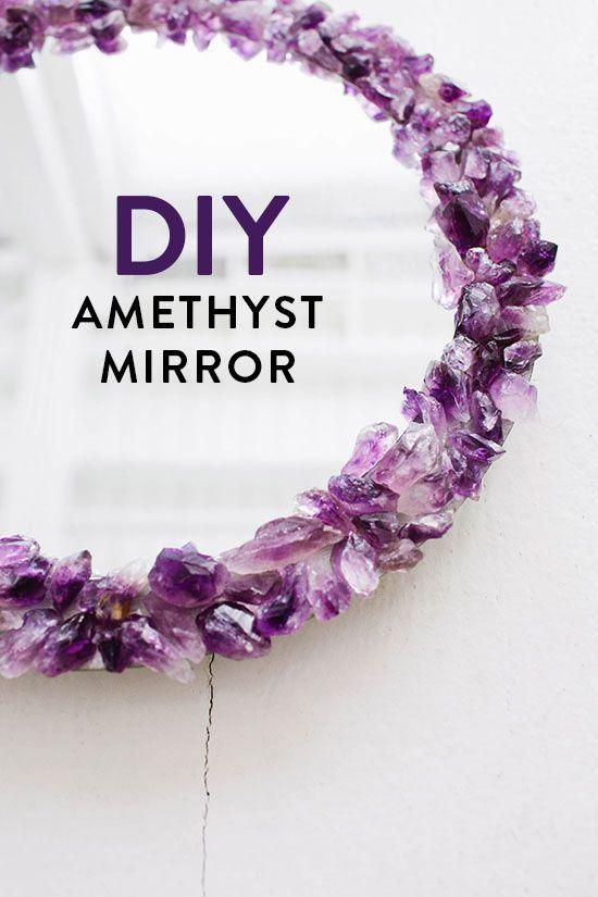 DIY Crystal Mirror Tutorial