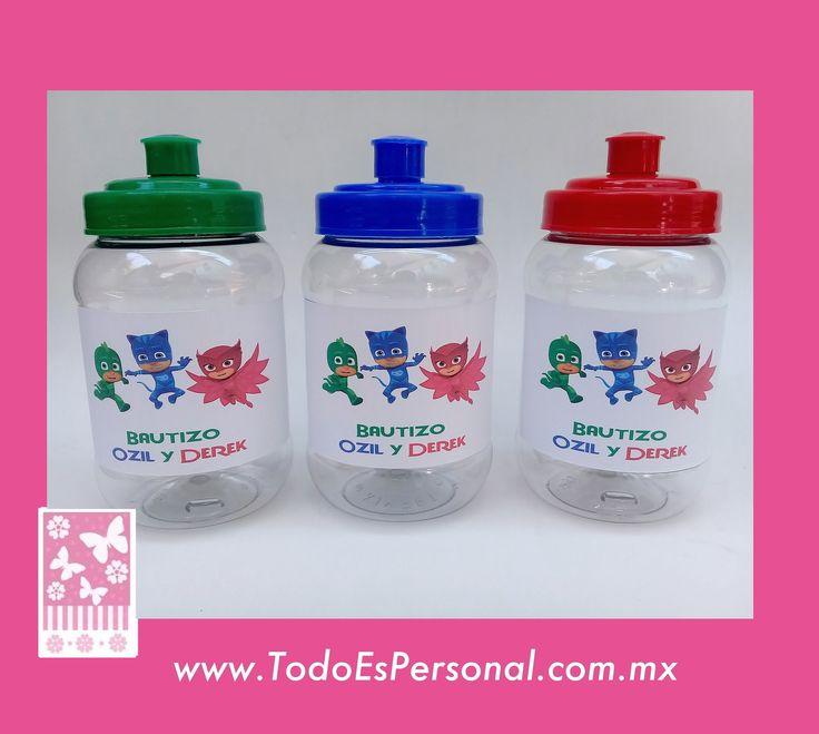cilindro termo para agua 500ml plastico vasos pepsilindros imagen heroes en pijama rojo azul rey verde bandera  ccumpleaños invitados regalo bolo  gemelos bautizo fiesta cumpleaños salon de fiestas recuerdos