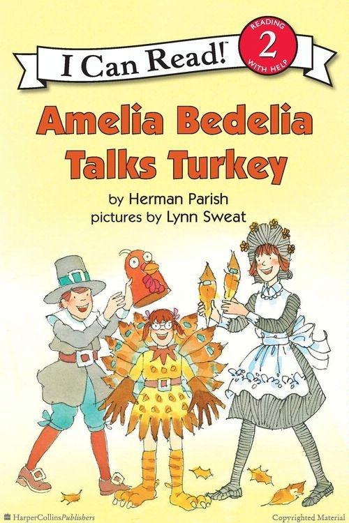 Amelia Bedelia Talks Turkey by Herman Parish, Illustrated by Lynn Sweat