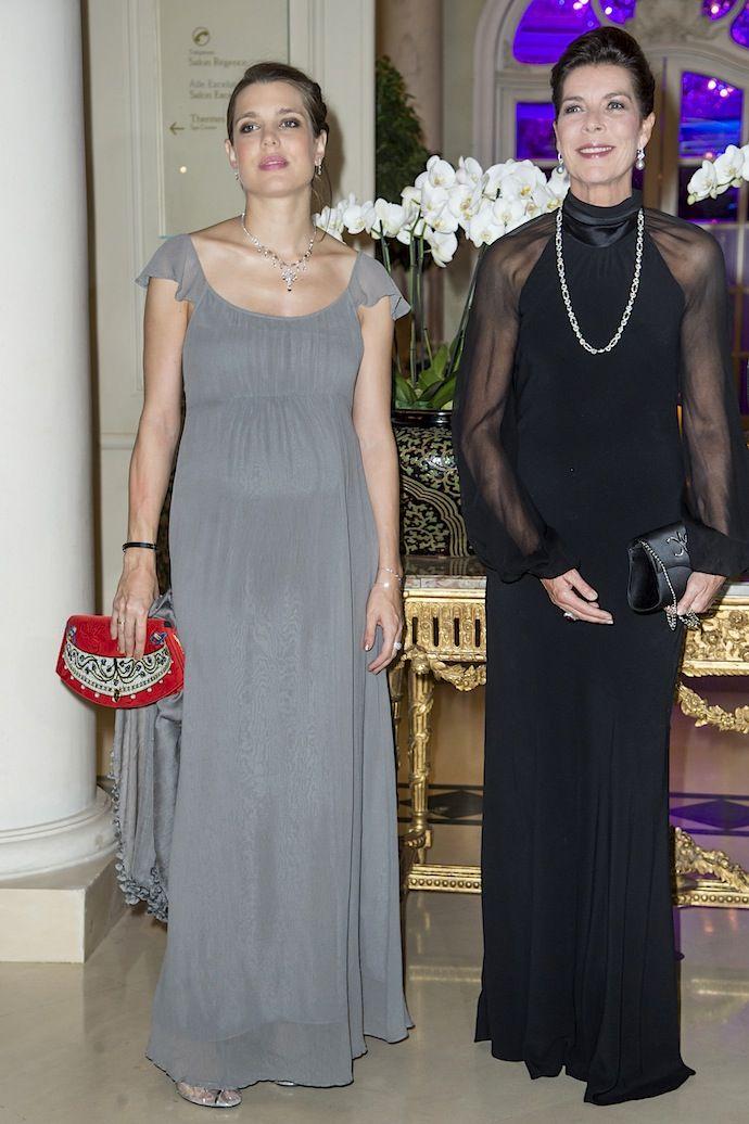 Шарлотта Казираги и принцесса Каролина