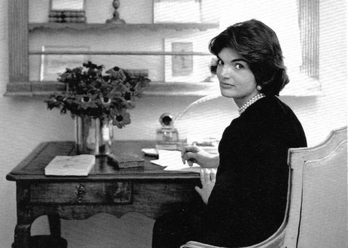 An Early Desk Of Jacqueline Bouvier Kennedy In Her Georgetown Home The Most Famous
