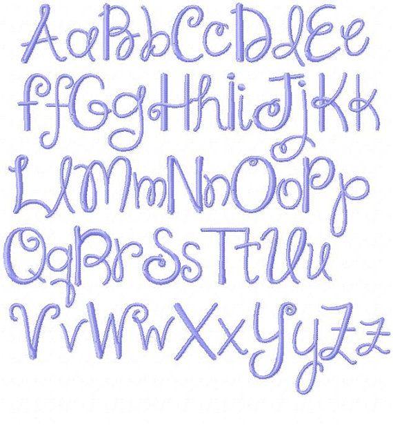 Best fancy fonts images on pinterest script