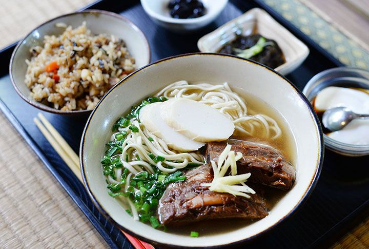 Okinawa soba at an old folk house registered as cultural property | Best information for your Okinawa Trip