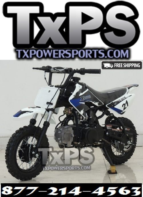 RPS XMOTO HX90S 90CC SEMI-AUTOMATIC DIRT BIKE. Free Shipping. Sale Price: $649.00