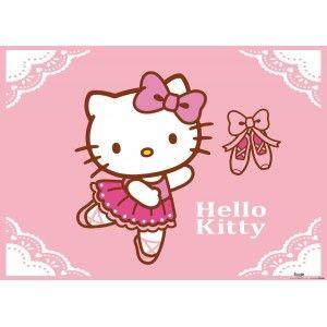 Hello Kittys faltapéta (160 x 115 cm)