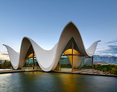 "Check out new work on my @Behance portfolio: ""Chapel with undulating roof in South Africa - heavenly!"" http://be.net/gallery/49858687/Chapel-with-undulating-roof-in-South-Africa-heavenly"