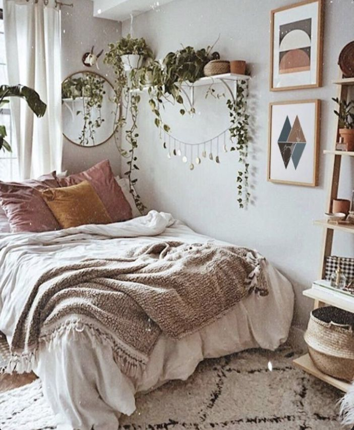 So You Don T Understand The Words P M Sospesa Temporaneamente Bedroom Inspirations Modern Bohemian Bedroom Aesthetic Bedroom