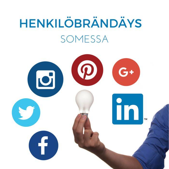 Vaikka lähes kaikki viestivät sosiaalisessa mediassa, vain harva osaa käyttää sitä aktiivisesti oman henkilöbrändinsä rakentamiseen.