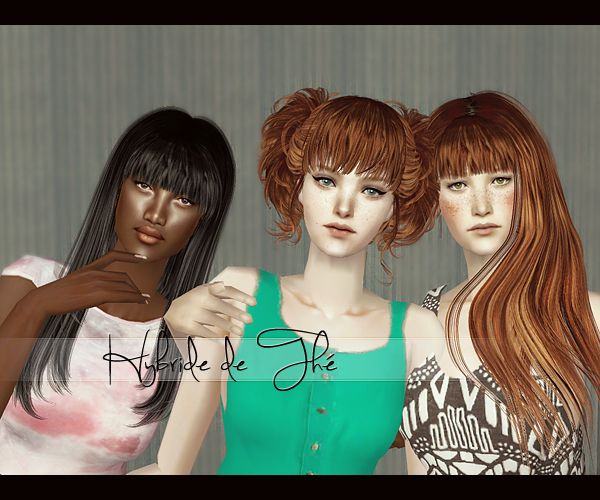 MYB Sims: B-Fly & RoseSims accessory bangs by Klausy ...