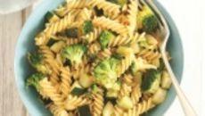 Fusilli with brocolli, courgette and gremolata