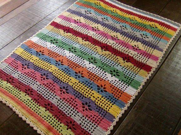 1000 images about tapete de croche on pinterest runners for Tapetes de crochet