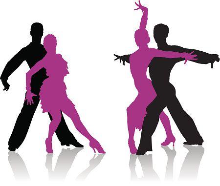 Ballroom dancing clip art vector images illustrations - Musique danse de salon gratuite ...