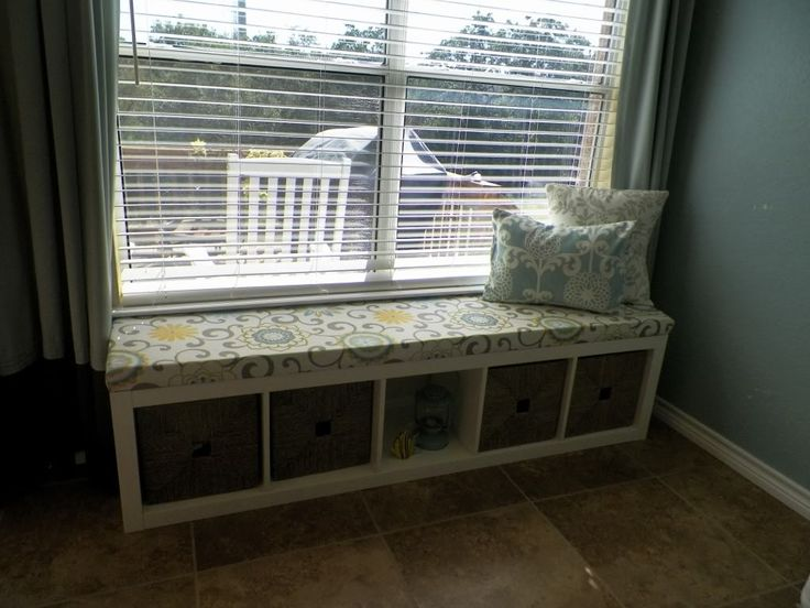 Diy Window Bench Cushion For Ikea Expedit Bookshelf