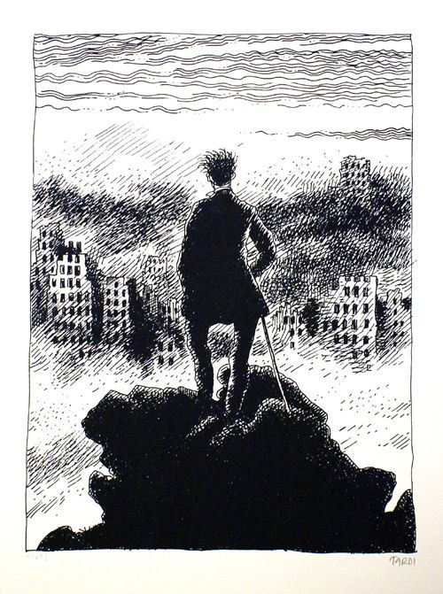 The View - by Jacques Tardi
