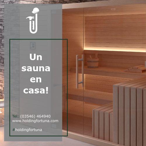 Sabemos que siempre que podés te escapás a un spa, pero no suele ser tan a menudo como querrías. ¿Qué te parecería tener tu propio sauna en casa? FORTUNA CONSTRUCTORA lo hace posible! Mas info a: ☎️3546-464940 📧holding@holdingfortuna.com #HoldingFortuna #SaunaEnCasa
