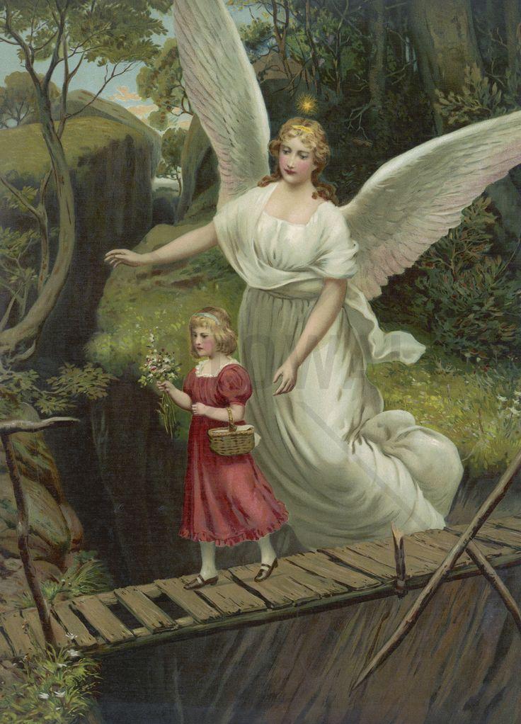 Guardian Angel - Fotobehang