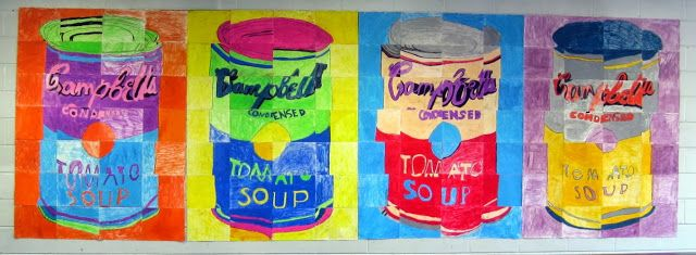 Same group of students now 4th graders mural