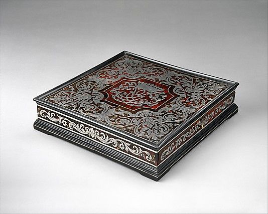 Marqueterie Boulle: Allemagne - writing box - Ferdinand Plitzner (1678-1724)