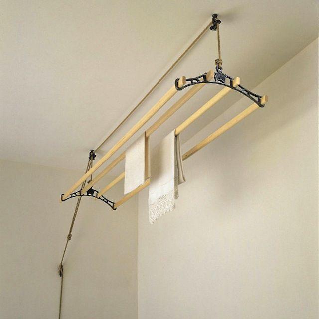 best 25 indoor clothes lines ideas on pinterest. Black Bedroom Furniture Sets. Home Design Ideas