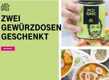 """Gratis: Zwei Gewürzdosen von """"Just Spices"""" für Telekom-Kunden https://www.discountfan.de/artikel/essen_und_trinken/gratis-zwei-gewuerzdosen-von-just-spices-fuer-telekom-kunden.php Das letzte Geschenk für Telekom-Kunden in diesem Jahr: Über die Megadeal-App gibt es ab sofort zwei Gewürzdosen von """"Just Spices"""" zum Nulltarif frei Haus. Gratis: Zwei Gewürzdosen von """"Just Spices"""" für Telekom-Kunden (Bild: Telekom.de) Die zwei Gewürzdosen von &#822"""