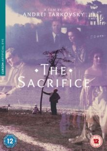 THE SACRIFICE (PG) 1986 SWEDEN TARKOVSKY, ANDREI DVD – £15.99 BLU RAY £19.99 Visionary film unfolds in the hour before a nuclear war. Alexander, his wife Adelaide (, their two children, and v…