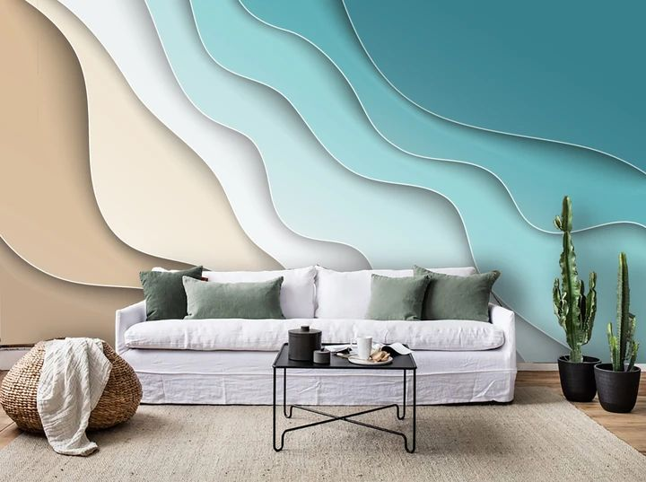 3D Color Gradation Wall Mural Wallpaper 49 | Home ...