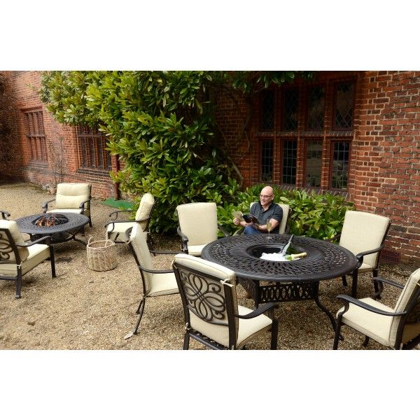 Gregg Wallace Lounge And Dining Fire And Grill Sets.