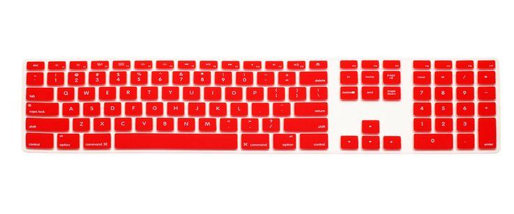 US Version Candy Color Silicone Keyboard Cover Numeric Keypad For Apple iMac G5/G6 For Apple iMac Keyboard Cover Protector Flim  #Affiliate