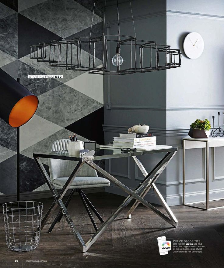 Wall Mural Geometric Marble From Rebel Walls In Real Living Australia August 2015