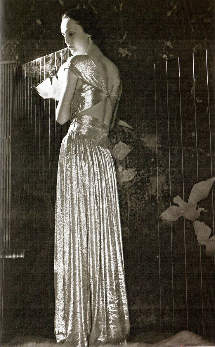 Jeanne Lanvin Evening Gown