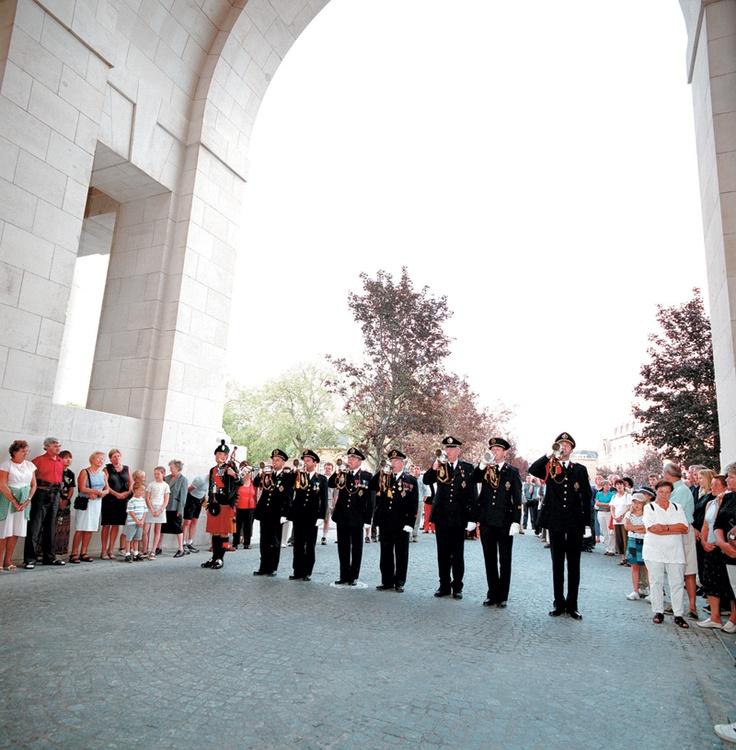 'Last Post Ceremony' at Menin Gate in Ypres