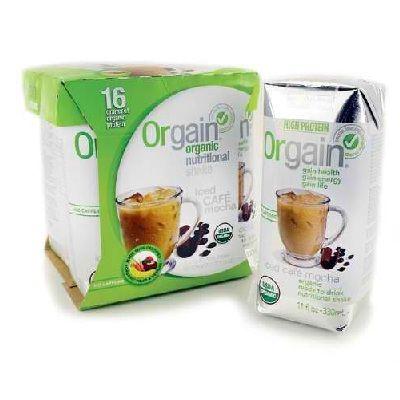 Orgain Cafe Mocha (3x4Pack )